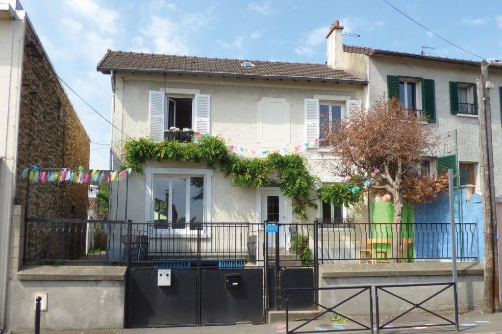 Le Cerpp - La maison - École Expérimentale de Bonneuil