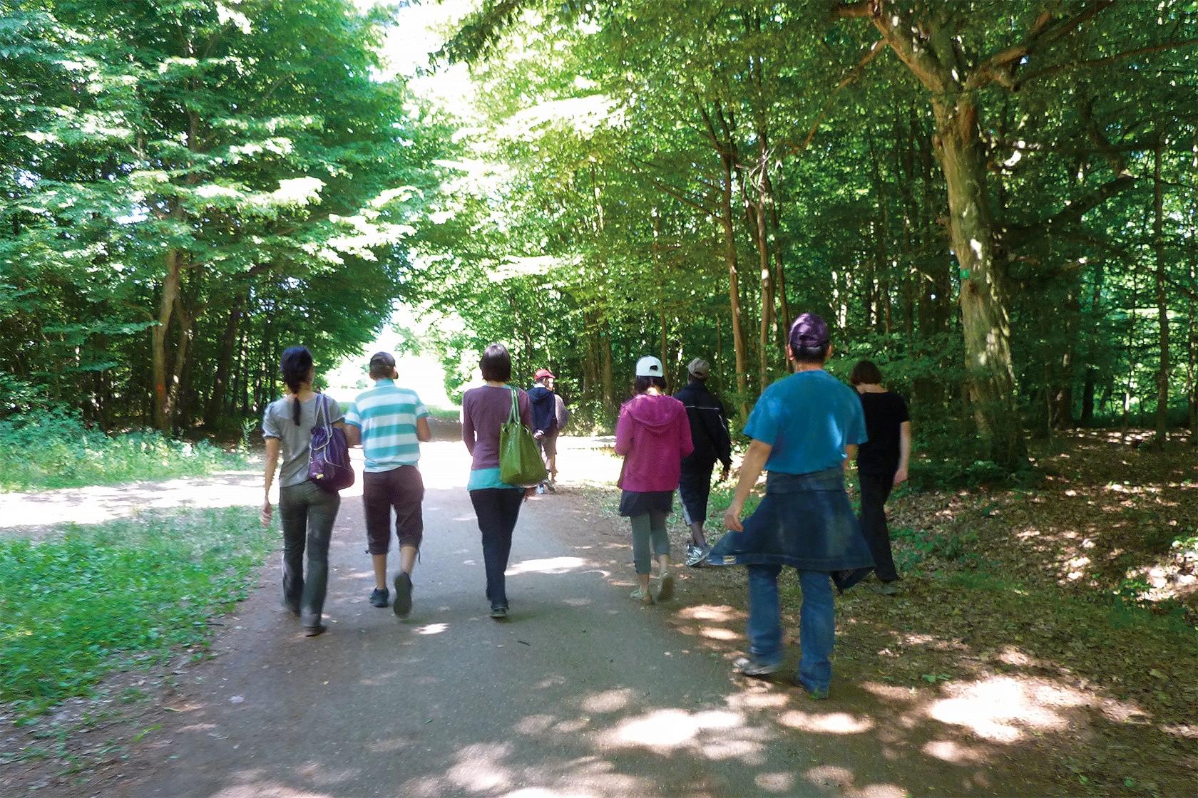 mentions légales - Une randonnée en province - École Expérimentale de Bonneuil
